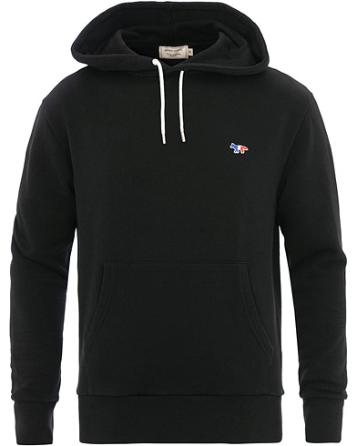 Maison Kitsuné Hoodie Tricolor Fox Patch Black