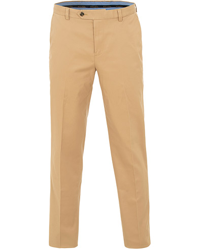 Brooks Brothers Milano Stretch Chino Khaki i gruppen Klær / Bukser / Chinos hos Care of Carl (15726311r)