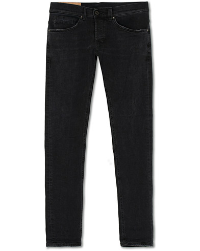 Dondup George Jeans Black i gruppen Klær / Jeans hos Care of Carl (15732511r)