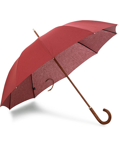 Carl Dagg Series 001 Umbrella Sullen Red  i gruppen Assesoarer / Paraplyer hos Care of Carl (15760010)