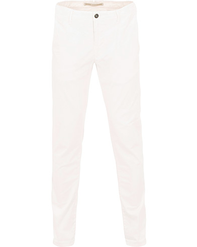 Incotex Slim Fit Stretch Slacks Off White