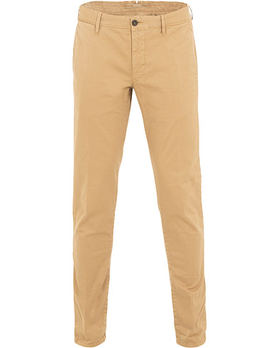 Incotex Slim Fit Stretch Slacks Khaki