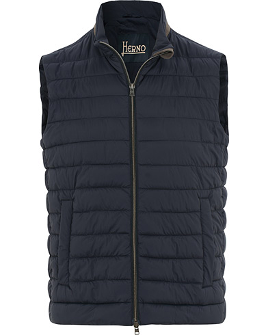 Herno Nuage Matt Nylon Vest Deep Blue i gruppen Klær / Vester hos Care of Carl (15779911r)