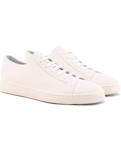 Santoni Cleanic Sneaker White Calf