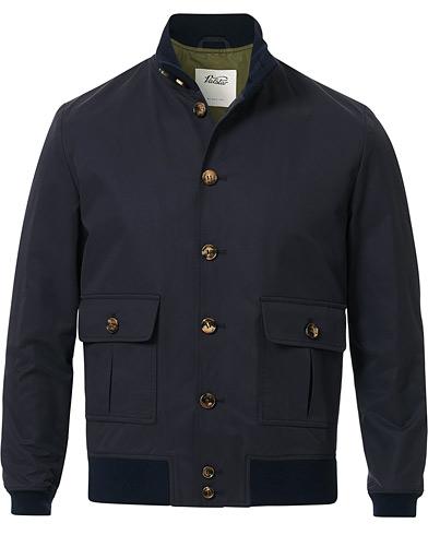 Valstar Valstarino Water Repellent Cotton Jacket Navy