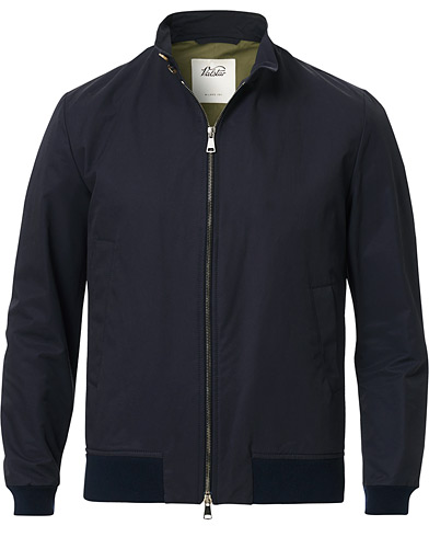 Valstar Water Repellent Cotton Harrington Jacket Navy i gruppen Klær / Jakker / Bomberjakker hos Care of Carl (15787111r)