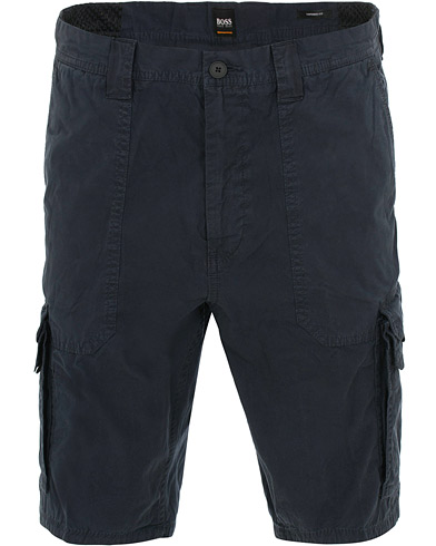BOSS Casual Sargo Cargo Shorts Navy i gruppen Klær / Shorts / Chinosshorts hos Care of Carl (15805811r)