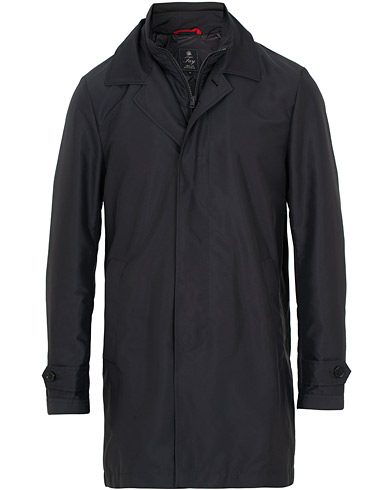 Fay Morning Double Front Nylon Coat Navy i gruppen Klær / Jakker / Frakker hos Care of Carl (15808511r)