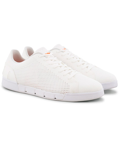 Swims Breeze Tennis Knit Sneaker White i gruppen Sko / Sneakers hos Care of Carl (15813811r)
