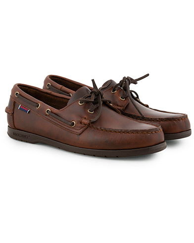 Sebago Endeavor Boat Shoe Brown i gruppen Sko / Seilersko hos Care of Carl (15821911r)