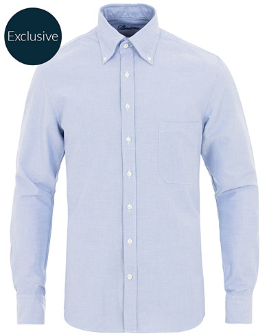 Stenströms Slimline Oxford Shirt Light Blue
