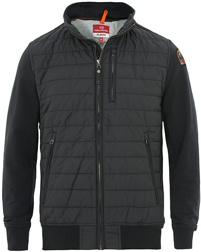 Parajumpers Elliot Fleece & Nylon Jacket Black i gruppen Klær / Jakker / Tynne jakker hos Care of Carl (15836711r)