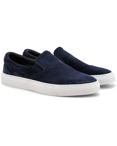 Diemme Garda Slip On Sneaker Navy Suede i gruppen Sko / Sneakers / Slip-on-sneakers hos Care of Carl (15843911r)