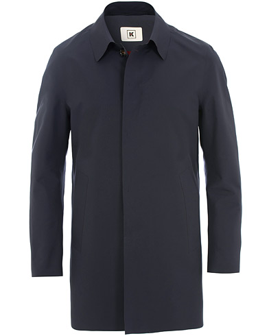 Kired Pablo Laser Cut Trench Blue