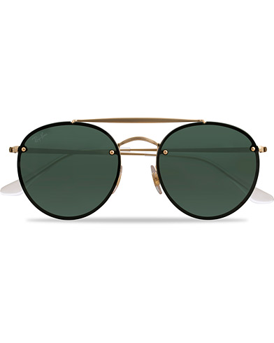 Ray-Ban 0RB3614N Sunglasses Gold Metal  i gruppen Assesoarer / Solbriller hos Care of Carl (15844810)