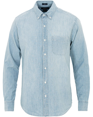J.Crew Slim Fit Chambray Shirt Light Wash