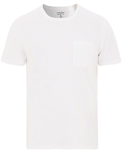 J.Crew Slim Fit Garment Dyed Pocket Tee White i gruppen Klær / T-Shirts / Kortermede t-shirts hos Care of Carl (15854611r)