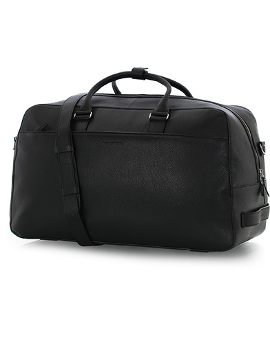 Tiger of Sweden Brome Grained Leather Weekendbag Black  i gruppen Assesoarer / Vesker hos Care of Carl (16014710)