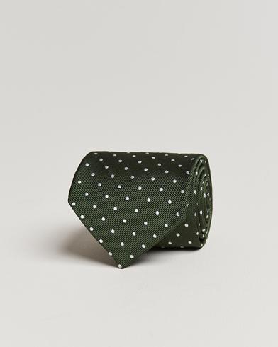 Amanda Christensen Dot Classic Tie 8 cm Green/White