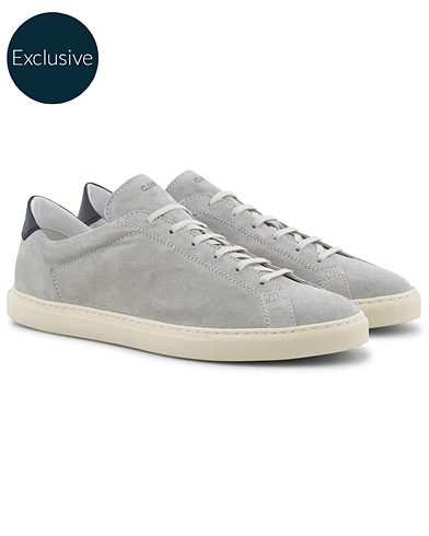 C.QP Exclusively Made For Care of Carl Racquet Sneaker Grey i gruppen Sko / Sneakers / Sneakers med lavt skaft hos Care of Carl (16026711r)