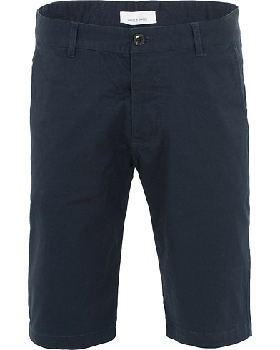 Samsøe & Samsøe Balder Cotton Shorts Dark Sapphire i gruppen Klær / Shorts / Chinosshorts hos Care of Carl (16030311r)