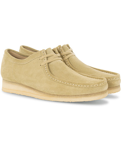 Clarks Originals Wallabee Maple Suede i gruppen Sko / Derbys hos Care of Carl (16041011r)