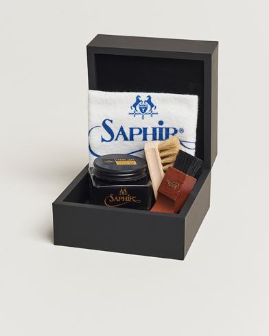 Saphir Medaille dOr Gift Box Creme Pommadier Black & Brush