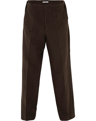 Our Legacy Cotton/Linen Borrowed Chino Cafe Serra i gruppen Klær / Bukser / Chinos hos Care of Carl (16052811r)