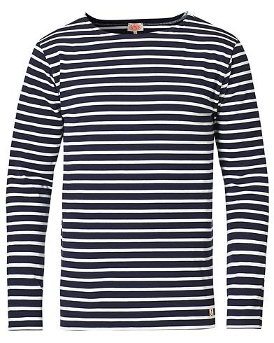 Armor-lux Houat Héritage Stripe Longsleeve T-shirt Navy/White