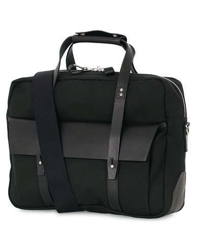 Chapman Bags Wye Work Canvas Briefcase Black  i gruppen Assesoarer / Vesker hos Care of Carl (16076310)