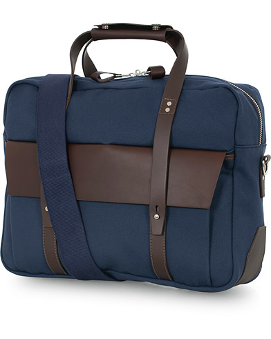 Chapman Bags Wye Work Canvas Briefcase Navy  i gruppen Assesoarer / Vesker hos Care of Carl (16076410)