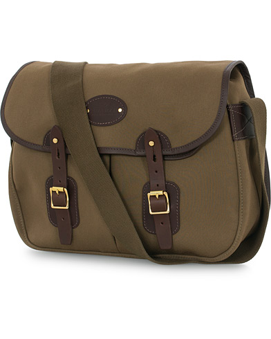 Chapman Bags Troutbeck 16 Canvas Shoulder Bag Deep Olive  i gruppen Assesoarer / Vesker hos Care of Carl (16076610)