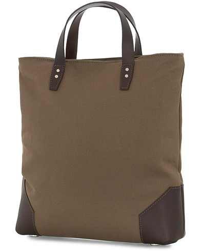 Chapman Bags Tyne Canvas Tote Bag Olive