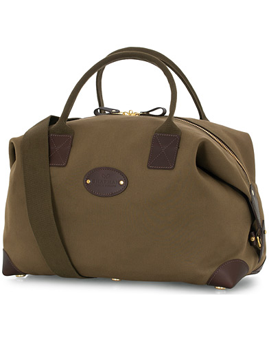 Chapman Bags Medium Classic Holdall Canvas Weekendbag Deep Olive  i gruppen Assesoarer / Vesker hos Care of Carl (16076910)