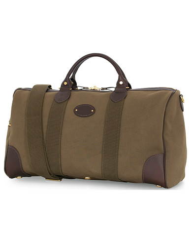 Chapman Bags Flight Holdall Canvas Weekendbag Deep Olive  i gruppen Assesoarer / Vesker hos Care of Carl (16077010)