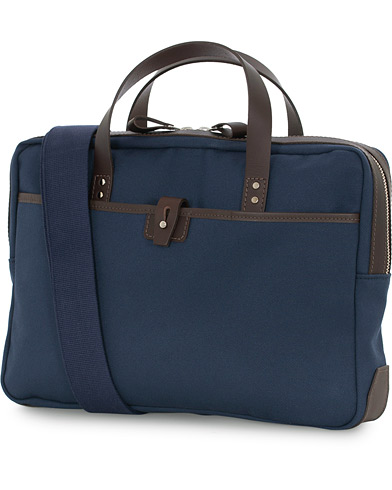 Chapman Bags Bovey Canvas Briefcase Navy  i gruppen Assesoarer / Vesker hos Care of Carl (16077410)
