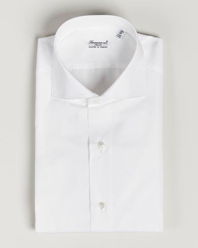 Finamore Napoli Milano Slim Fit Classic Shirt White