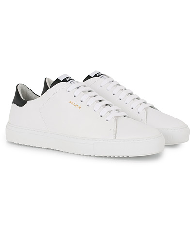 Axel Arigato Clean 90 Contrast Sneaker White/Black Leather i gruppen Sko / Sneakers hos Care of Carl (16090811r)