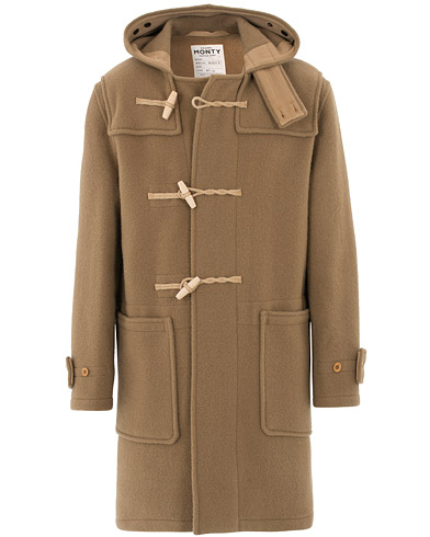 Gloverall 575 Monty Original Duffle Coat Camel
