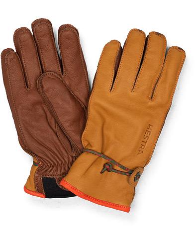 Hestra Wakayama Leather Ski Glove Cognac/Brown