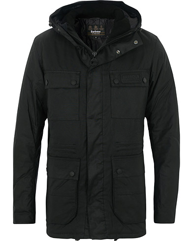 Barbour International Imboard Parka Black i gruppen Klær / Jakker / Parkas hos Care of Carl (16234511r)