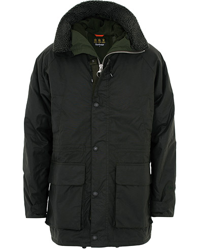 Barbour Lifestyle Fenton Wax Jacket Sage i gruppen Klær / Jakker / Voksede jakker hos Care of Carl (16236011r)
