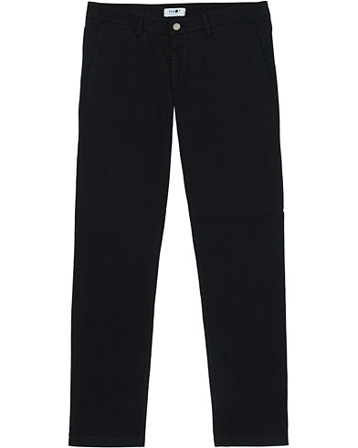 NN07 Marco Slim Fit Stretch Chinos Black i gruppen Klær / Bukser / Chinos hos Care of Carl (16252311r)