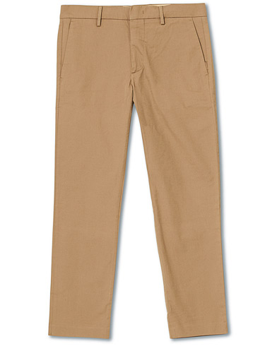 NN07 Theo Regular Fit Stretch Chinos Green Stone i gruppen Klær / Bukser / Chinos hos Care of Carl (16254711r)