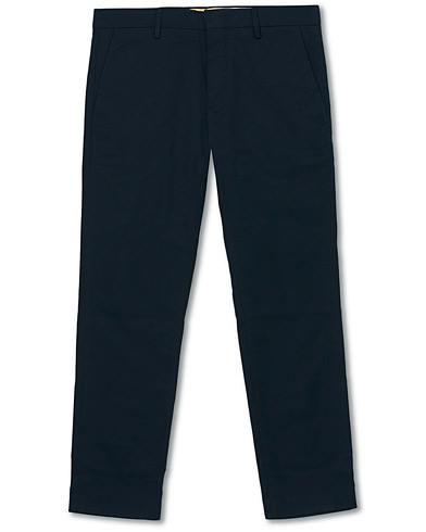 NN07 Theo Regular Fit Stretch Chinos Navy Blue i gruppen Klær / Bukser / Chinos hos Care of Carl (16255011r)