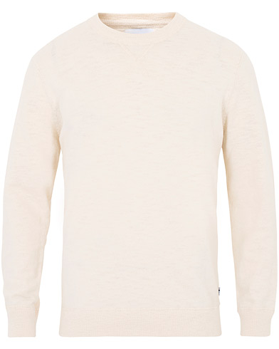 NN07 Hades Knitted Sweatshirt Egg White