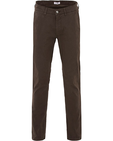 NN07 Marco Slim Fit Stretch Chinos Brown i gruppen Klær / Bukser / Chinos hos Care of Carl (16258911r)
