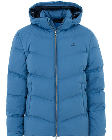 GANT The Alta Down Jacket Mid Blue i gruppen Klær / Jakker / Dunjakker hos Care of Carl (16268811r)