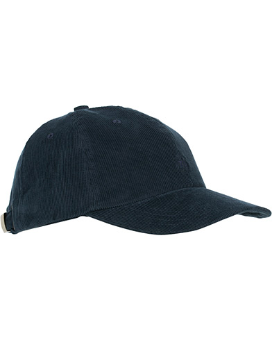 Brooks Brothers Corduroy Baseball Cap  Navy  i gruppen Assesoarer / Hatter & capser / Caps hos Care of Carl (16292910)