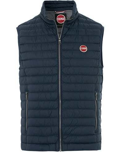 Colmar Floid Lightweight Down Vest Navy i gruppen Klær / Vester hos Care of Carl (16303411r)